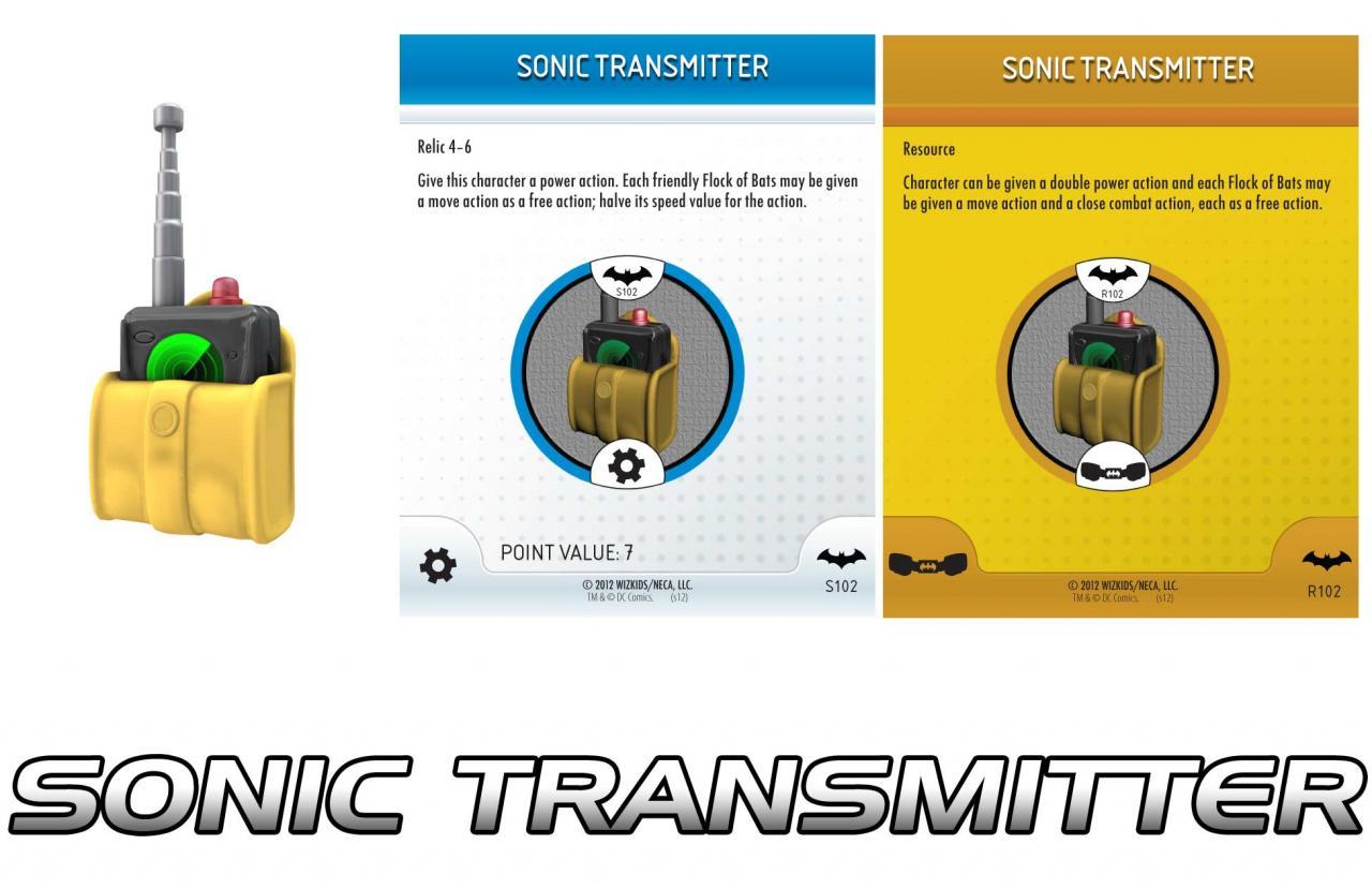 Sonic Transmitter